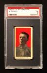 1910 E103 Williams Caramel  Nap Rucker  Front Thumbnail