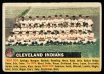 1956 Topps #85 LFT  Indians Team Front Thumbnail