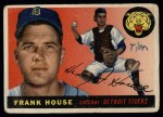1955 Topps #87  Frank House  Front Thumbnail