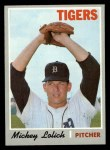 1970 Topps #715  Mickey Lolich  Front Thumbnail