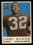1959 Topps #10  Jim Brown  Front Thumbnail
