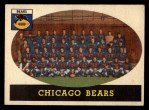 1958 Topps #29   Bears Team Front Thumbnail