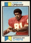 1973 Topps #186  Marvin Upshaw  Front Thumbnail