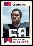 1973 Topps #165  L.C. Greenwood  Front Thumbnail