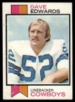 1973 Topps #369  Dave Edwards  Front Thumbnail