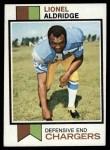 1973 Topps #174  Lionel Aldridge  Front Thumbnail