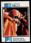 1973 Topps #381  Leroy Kelly  Front Thumbnail