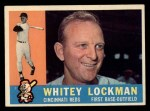 1960 Topps #535  Whitey Lockman  Front Thumbnail