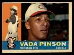1960 Topps #176  Vada Pinson  Front Thumbnail