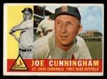 1960 Topps #40  Joe Cunningham  Front Thumbnail