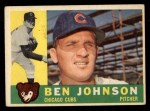 1960 Topps #528  Ben Johnson  Front Thumbnail