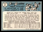 1965 Topps #37  Fred Gladding  Back Thumbnail