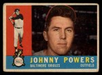 1960 Topps #422  John Powers  Front Thumbnail