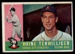 1960 Topps #26  Wayne Terwilliger  Front Thumbnail