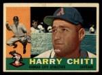 1960 Topps #339  Harry Chiti  Front Thumbnail