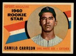 1960 Topps #121   -  Camilo Carreon Rookie Star Front Thumbnail