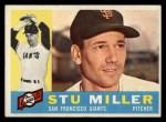 1960 Topps #378  Stu Miller  Front Thumbnail