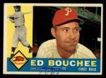 1960 Topps #347  Ed Bouchee  Front Thumbnail