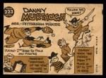 1960 Topps #223  Danny Murtaugh  Back Thumbnail
