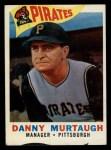 1960 Topps #223  Danny Murtaugh  Front Thumbnail