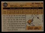1960 Topps #196  Andy Carey  Back Thumbnail