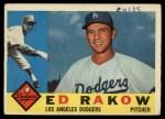1960 Topps #551  Ed Rakow  Front Thumbnail