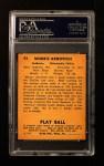 1940 Play Ball #97  Morrie Arnovich  Back Thumbnail