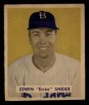 1949 Bowman #226  Duke Snider  Front Thumbnail