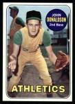 1969 Topps #217  John Donaldson  Front Thumbnail