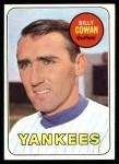 1969 Topps #643  Billy Cowan  Front Thumbnail