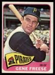 1965 Topps #492  Gene Freese  Front Thumbnail