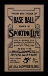 1910 M116 Sporting Life  Bill Foxen  Back Thumbnail