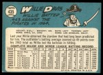 1965 Topps #435  Willie Davis  Back Thumbnail