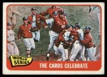 1965 Topps #139   1964 World Series - Summary - The Cards Celebrate Front Thumbnail
