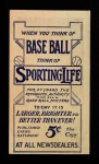 1910 M116 Sporting Life  Lefty Leifield  Back Thumbnail