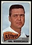 1965 Topps #179  Hal Woodeshick  Front Thumbnail
