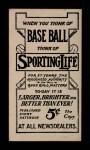 1910 M116 Sporting Life BLK Nap Rucker   Back Thumbnail