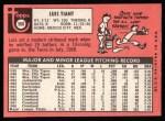 1969 Topps #560  Luis Tiant  Back Thumbnail