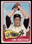 1965 Topps #30  Jim Bouton  Front Thumbnail
