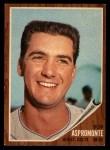 1962 Topps #248  Bob Aspromonte  Front Thumbnail