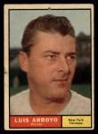 1961 Topps #142  Luis Arroyo  Front Thumbnail
