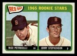 1965 Topps #74   -  Rico Petrocelli / Jerry Stephenson Red Sox Rookies Front Thumbnail