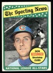1969 Topps #422   -  Don Kessinger All-Star Front Thumbnail