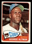 1965 Topps #528  George Altman  Front Thumbnail