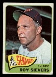1965 Topps #574  Roy Sievers  Front Thumbnail