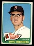 1965 Topps #434  Dave Morehead  Front Thumbnail