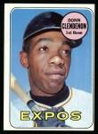 1969 Topps #208 MON Donn Clendenon  Front Thumbnail