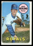 1969 Topps #591  Mike Hedlund  Front Thumbnail