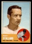 1963 Topps #419  Tracy Stallard  Front Thumbnail