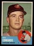 1963 Topps #296  Doc Edwards  Front Thumbnail